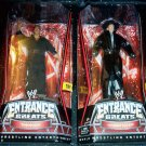 WWE Mattel Wrestling Entrance Greats Series 5 UNDERTAKER & The Rock Collector Action Figure New
