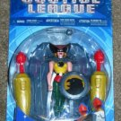 Mattel DC Justice League Silver Storm Hawkgirl Action Figure [Blue Card] New