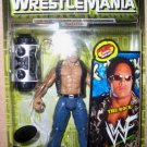 WWF Wrestlemania 2000 TitanTron Live Back Alley Street Fight The Rock Action Figure New