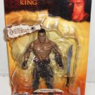 "Jakks Pacific The Scorpion King Mathayus Action Figure Real Scan Dwayne "" The Rock "" Johnson New"