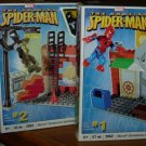 Mega Bloks The Amazing Spider-Man Marvel StreetSeries: 3 Playsets 2062 - 2063 - 2064 New