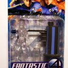 Fantastic Four F4 Power Blast Invisible Woman with Water Blasting Action Figure (Clear Variant) NEW