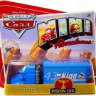 Disney Pixar CARS Movie Mini Adventures Piston Cup KING #43 Gray Hauler World of Cars WOC NEW