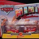 Disney Pixar CARS Movie Mini Adventures Lightning McQueen's Team RAMONE & FLO World of Cars WOC