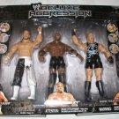 WWE Jakks Pacific Exclusive DELUXE Aggression Sabu, Bobby Lashley & RVD Rob Van Dam Action Figures