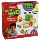 Fisher Price Trio Building System Crazy Creatures with 54 Pieces of bricks, sticks and panels