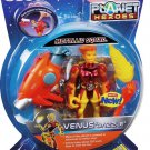 "Fisher Price Planet Heroes Metallic Squad VENUS "" DAZZLE "" Action Figure with Bonus VOL 2 DVD"