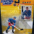 Kenner 1997 Starting Lineup NHL New York Rangers Wayne Gretzky Figure w/ SLU Hockey Card New