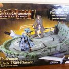 Zizzle Pirates of the Caribbean 2 Flying Dutchman Pirate Deck Duel Playset ( No figures included )