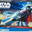 Hasbro Star Wars The Clone Wars Starfighter Vehicle - Plo Koon's Jedi Starfighter NEW