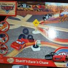 Disney Pixar Cars 2 Wood Collection Sheriff's Race n Chase set with Radiator Springs McQueen New