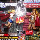 Mattel DC Universe Exclusive Masters of the Universe Classics Supergirl vs She-Ra Action Figures New
