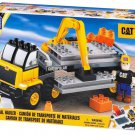 MEGA BLOKS 614 Caterpillar CAT Material Hauler New