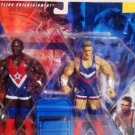 WWE Jakks Pacific WrestleMania 19 - Charlie Haas & Shelton Benjamin 2 Pack Action Figures New