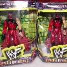 2 WWF WWE Jakks Pacific Superstars Ripped & Ruthless Series 2 KANE Action Figures New
