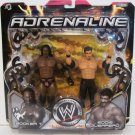 WWE Jakks Pacific Wrestling Adrenaline Series 14 Booker T & Eddie Guerrero Action Figure 2-Pack New