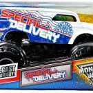 "Mattel Hot Wheels Monster Jam 2011 "" Special Delivery ""  1:24 Scale Die Cast Truck NEW"