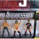 WWE Jakks Micro Aggression Series 3, Shawn Michaels, CM Punk & Tommy Dreamer Action Figures