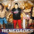 WWF WWE Jakks Pacific - RENEGADES - Raven, Stone Cold Steve Austion, Shane McMahon Action Figures