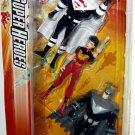 Mattel DC Super Heroes Justice League Action Figure 3-Pack Superman, Wonder Woman & Batman New