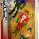 DC Super Heroes Justice League Unlimited 3-Pack Figures Lex Luther, Copperhead & Mirror Master New