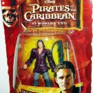 Disney Pirates of the Caribbean At Worlds End Series 3 Prisoner Will Turner Action Figure New