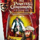 Disney Pirates of the Caribbean At Worlds End Series 3 Captain Jack Sparrow Action Figure New