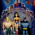Mattel Justice League Unlimited Action Figure 3-Pack Batman, Wonder Woman & Aquaman [ Blue Card ]