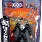 Mattel 2007 DC Super Heroes Select Sculpt Series 6 Black Suit Superman Action Figure NEW