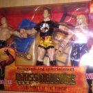 WWE Jakks Pacific Wrestling - Brass Knuckles - William Regal, Edge & Rob Van Dam Action Figures New