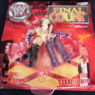 WWF WWE TNA Jakks Pacific Final Count Trish Stratus vs Jeff Hardy Action figures New