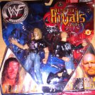 WWE Jakks Ringside Rivals Series 2 Stone Cold Steve Austin vs Triple H Action Figures 2-Pack NEW