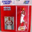 Kenner 1996 NBA Basketball Starting Lineup Allen Iverson ROOKIE Action Figure Philadelphia 76ers