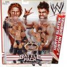 WWE Mattel Wrestling Battle Pack Series 14 Heath Slater & Justin Gabriel Action Figure 2-Pack New