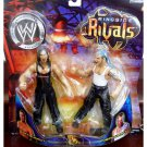 WWE TNA Wrestling Jakks Pacific Ringside Rivals Jeff Hardy vs. Matt Hardy Action Figures 2-Pack New