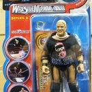 WWF WWE Jakks Pacific Wrestlemania XVII 17 series 8 Rikishi Real Scan Action Figure New