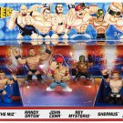 WWE Mattel Wrestling Rumblers Mini Figure 7-Pack Battle Royal #2 Toys R Us Exclusive New