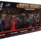 Mattel WWE Wrestling Royal Rumble Heritage Series Collection Action Figure 6 Pack New