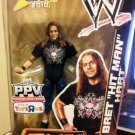Mattel WWE Wrestling PPV Elite Collection SummerSlam  2010 Bret The Hitman Hart Action Figure