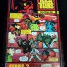 "Bandai Teen Titans - 1.5"" Comic Book Hero mini figures SERIES 3 PAGE 1 New"