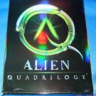 USED Alien Quadrilogy (Alien / Aliens / Alien 3 / Alien Resurrection) (DVD, 2003, 9-Disc Set)