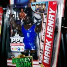 Mattel WWE Money In The Bank 2011 Best of Pay per View Mark Henry Action Figure New