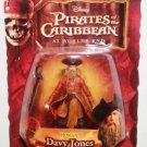 Disney Pirates of the Caribbean At Worlds End Series 3 Human Davy Jones Action Figure Bilingual New