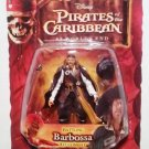 Disney Pirates of the Caribbean At Worlds End Series 3 Captain Battling Barbossa Action Figure New