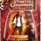 Disney Pirates of the Caribbean At Worlds End Series 3 Desert Weary Jack Sparrow Action Figure New