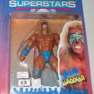 WWF WWE Jakks Superstars Series 2 Ultimate Warrior Action Figure with Bone Crunching Sound New