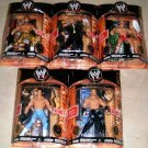 WWE Jakks Classic Deluxe Superstars Super Articulation Series 4 COMPLETE Set of 5 Action Figures New