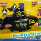 Fisher Price Imaginext Batman Vehicle Gift Set Villain Underwater Submarine NEW