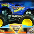 Mattel Hot Wheels Monster Jam 2008 War Wizard 1:24 Scale Die Cast Truck New