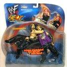 WWF WWE TNA Sunday Night Heat Finishing Moves Series 3 Matt Hardy vs Jeff Hardy Action Figure New